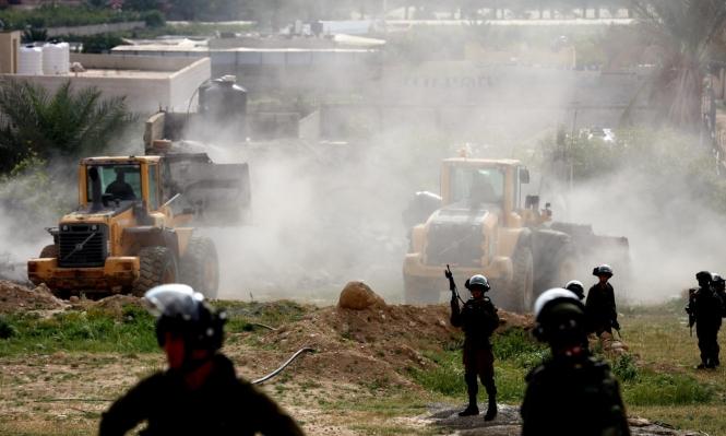 اعتقالات في القدس وهدم ومصادرة خيام في سلفيت