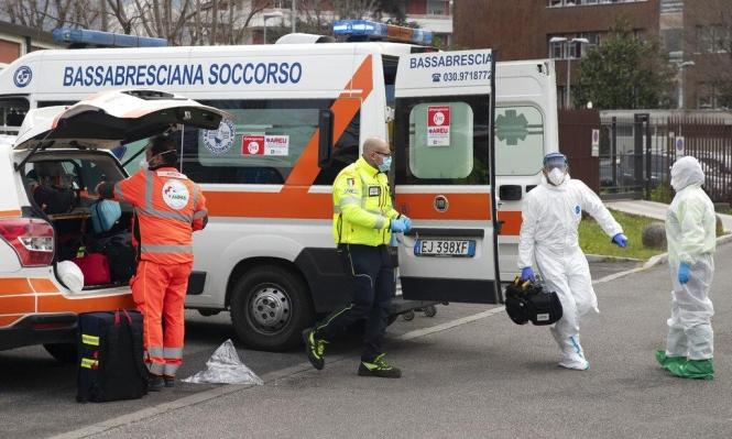 وفاة نحو ألف إيطالي خلال 24 ساعة بسبب فيروس كورونا