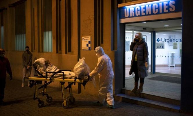 كورونا: إسبانيا تسجل 832 وفاة وإيران 139