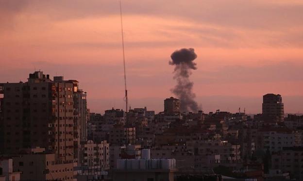 عدوان إسرائيلي على أهداف في حمص السورية