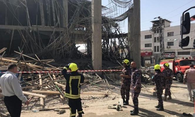 6 إصابات في انهيار مبنى قيد الإنشاء بالعيزرية قرب القدس