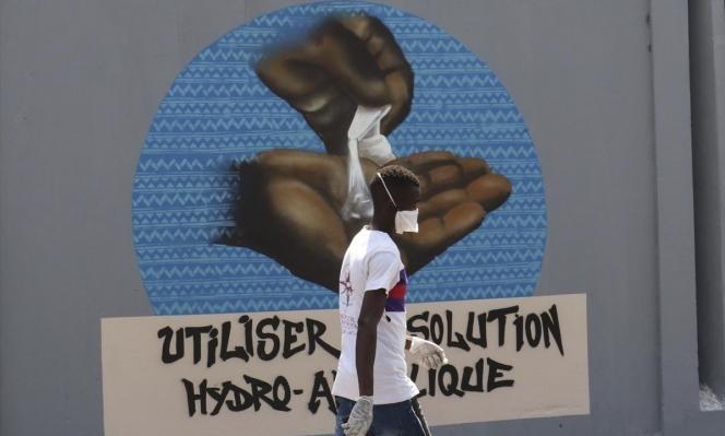 السنغال تنشر التوعية بفيروس كورونا عبر فن الغرافيتي!