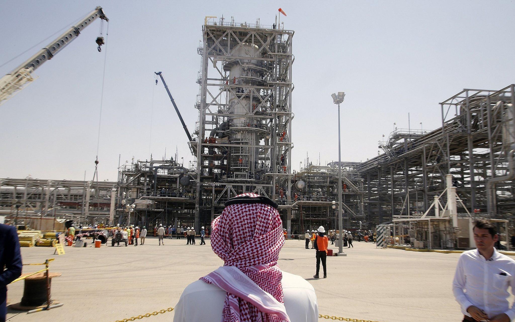 حقل سعودي لإنتاج النفط (أ ب)