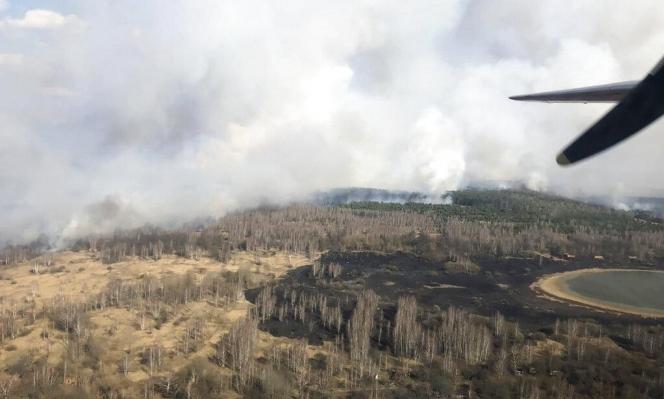 أوكرانيا: رصد مستوى إشعاع مرتفع قرب تشرنوبيل واندلاع حريق في الغابات المجاورة
