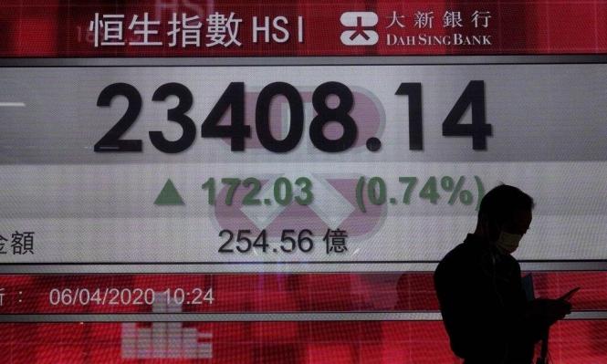 الأسواق المالية الآسيوية تشهد انتعاشا مع تراجع وفيات الفيروس