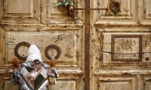 كنيسة القيامة مغلقة في عيدها