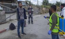 الضفة: غالبية مصابي كورونا من العمال في إسرائيل ومخالطيهم