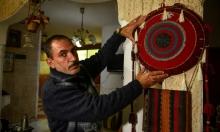 فنان تشكيلي يعيد إحياء التراث الفلسطيني في غزة