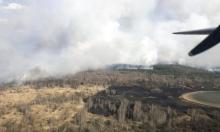 شدة الحرائق تتراجع قرب تشرنوبيل