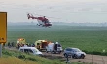 إصابات بينها خطيرة لعمال جراء حادث طرق جنوبي البلاد
