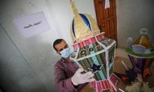 غزة: متطوع يصنع الفوانيس الرمضانية لتوزيعها على الأطفال