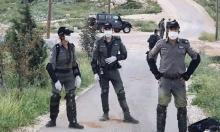 """قوات الأمن الإسرائيلية تخلي 6 مبان استيطانية قرب """"يتسهار"""""""
