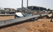 ريشون لتسيون: لا إصابات بانهيار مبنى صدمته رافعة