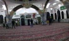 الشرطة تقتحم مسجدا في نحف وتغرّم مصلين