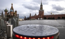 الميدان الأحمر في موسكو مغلق بسبب كورونا