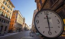 شوارع العاصمة الإيطالية روما مغلقة بسبب كورونا