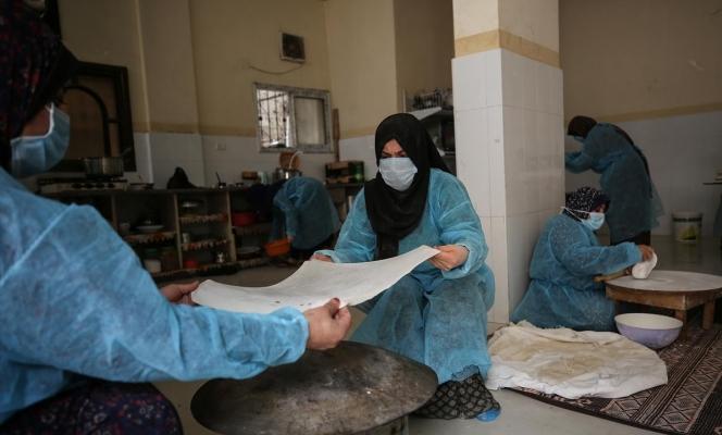 غزة: مطبخ نسوي لدعم النساء المهمشات في رمضان