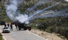 إصابة عشرات الفلسطينيين خلال مواجهات متفرقة مع جيش الاحتلال