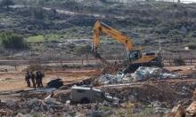 جرافات الاحتلال تهدم منشآت زراعية في الأغوار
