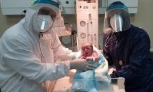 تيم: أول مولود فلسطيني بالضفة من أم مصابة بكورونا