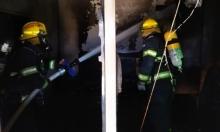 النقب: إصابة خطيرة لسيدة حامل إثر حريق بتل السّبع