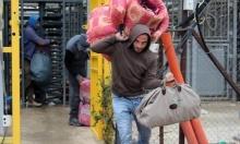 انخفاض كبير في أعداد الفلسطينيين العاملين في إسرائيل