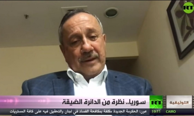 """بعد فضح فساد النظام السوري.. """"روسيا اليوم"""" تحذف مقابلة مع طلاس"""