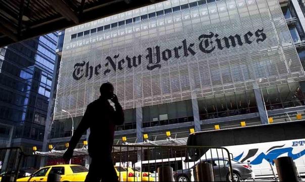 """احتجاج إسرائيلي على جملة في تقرير لـ""""نيويورك تايمز"""" أراد مدحها!"""