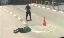 حاجز قلنديا: إصابة فلسطيني بادعاء تنفيذ عملية طعن