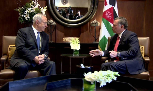 الأردن نقل تحذيرات من الضم لجهاز الأمن الإسرائيلي وغانتس