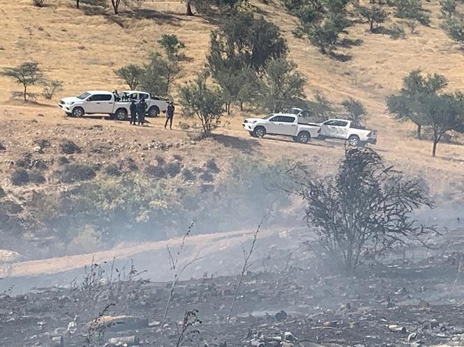 حريق هائل في أم الحيران