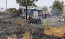 رهط: إخلاء منازل إثر اندلاع حريق بفعل الحر الشديد