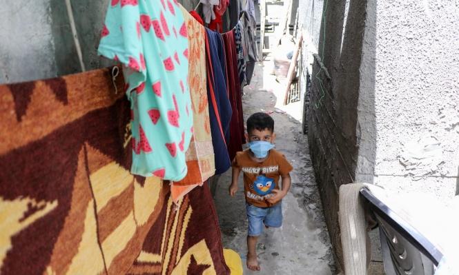 غزة تسجّل ارتفاعا حادًّا في عدد مصابي كورونا