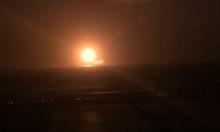 عطل في حقل ليفياتان للغاز: إغلاق مؤقت وتصاعد كرة لهب بالسماء