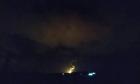 قنابل مضيئة بين الجولان المحتل والقنيطرة