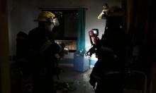 مجهولون يضرمون النار في مكاتب المجلس الإقليمي القيصوم