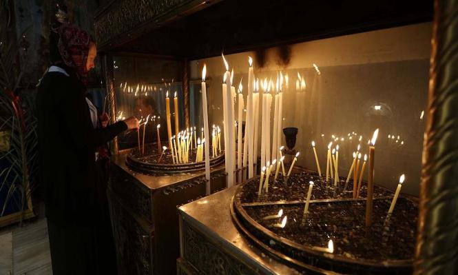 كنيسة القيامةتفتح أبوابها بعد إغلاق لنحو شهرين