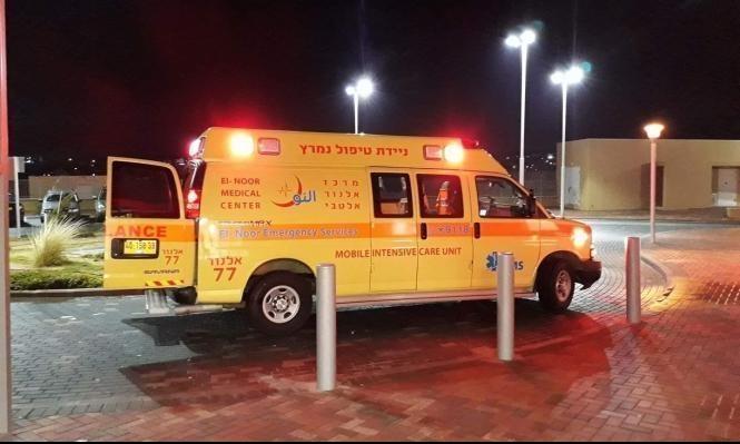 بئر المكسور: إصابة شاب بجروح خطيرة إثر إطلاق نار