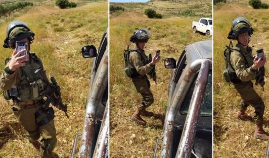 الاحتلال أصاب فلسطينيين برصاصه الحي ثم ادعى محاولتهما الطعن