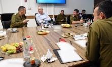"""""""تنوفا"""" تدخل حيّز التنفيذ؛ وغانتس: التوتر في غزة سيطول"""