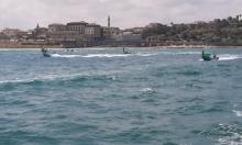 قافلة زوارق الصيادين الاحتجاجية تنطلق من ميناء يافا