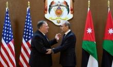 الأردن يؤكد لبريطانيا وأميركا رفض الضمّ