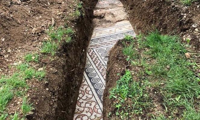 اكتشاف فسيفساء رومانيّة في شمالي إيطاليا