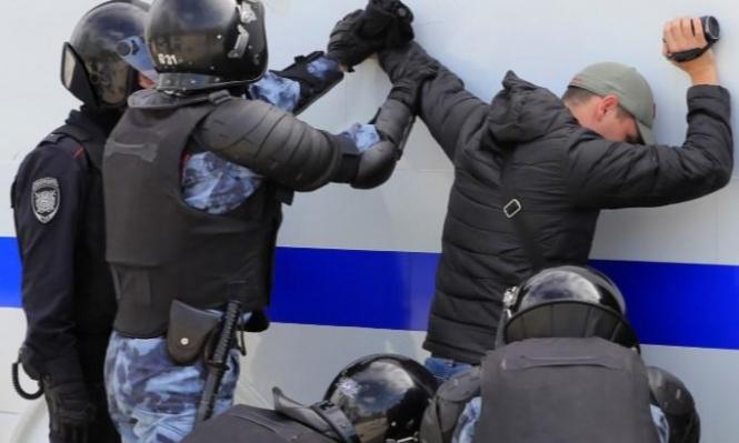 موسكو: اعتقال 4 صحافيين معارضين إثر تظاهرة احتجاجية