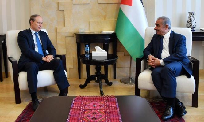 إشتية يدعو الاتحاد الأوروبي لفرض عقوبات على إسرائيل