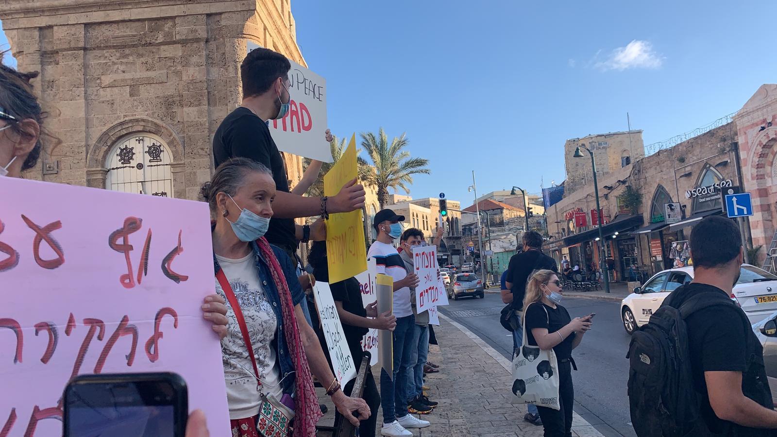 تظاهرتان في يافا وحيفا احتجاجا على جرائم الشرطة ونصرة للشهيدين الحلاق ويونس