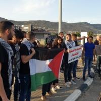 تواصل الاحتجاجات ضد جرائم أجهزة الأمن الإسرائيلية والإعدامات الميدانية