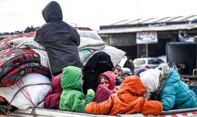 سورية: نزوح مدنيين بعد غارات وقصف النظام والروس للشمال