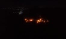 قصف إسرائيلي على 4 مواقع في مصياف السورية