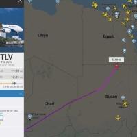 """رغم نفي البرهان: طائرة """"إل عال"""" إسرائيلية فوق السودان"""